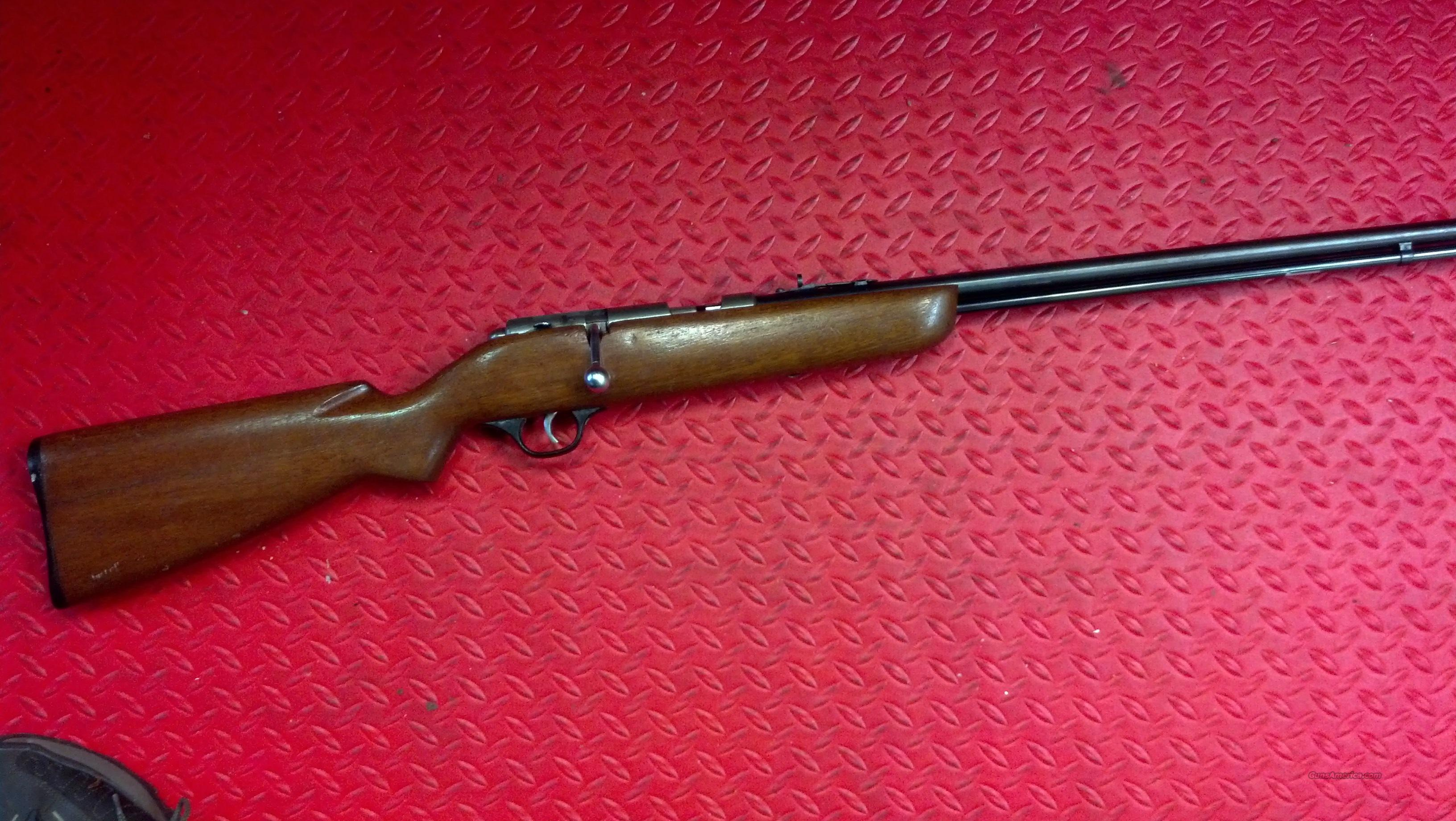 Marlin model 81 DL tube-fed 22LR rifle.  Guns > Rifles > Marlin Rifles > Modern > Bolt/Pump