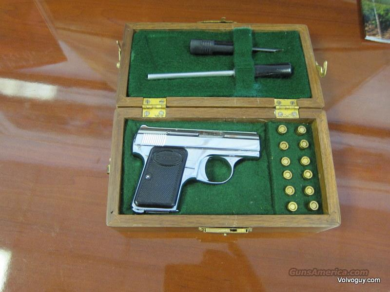 Baby Browning w/ fitted Box-NO RESERVE  Guns > Pistols > Browning Pistols > Baby Browning