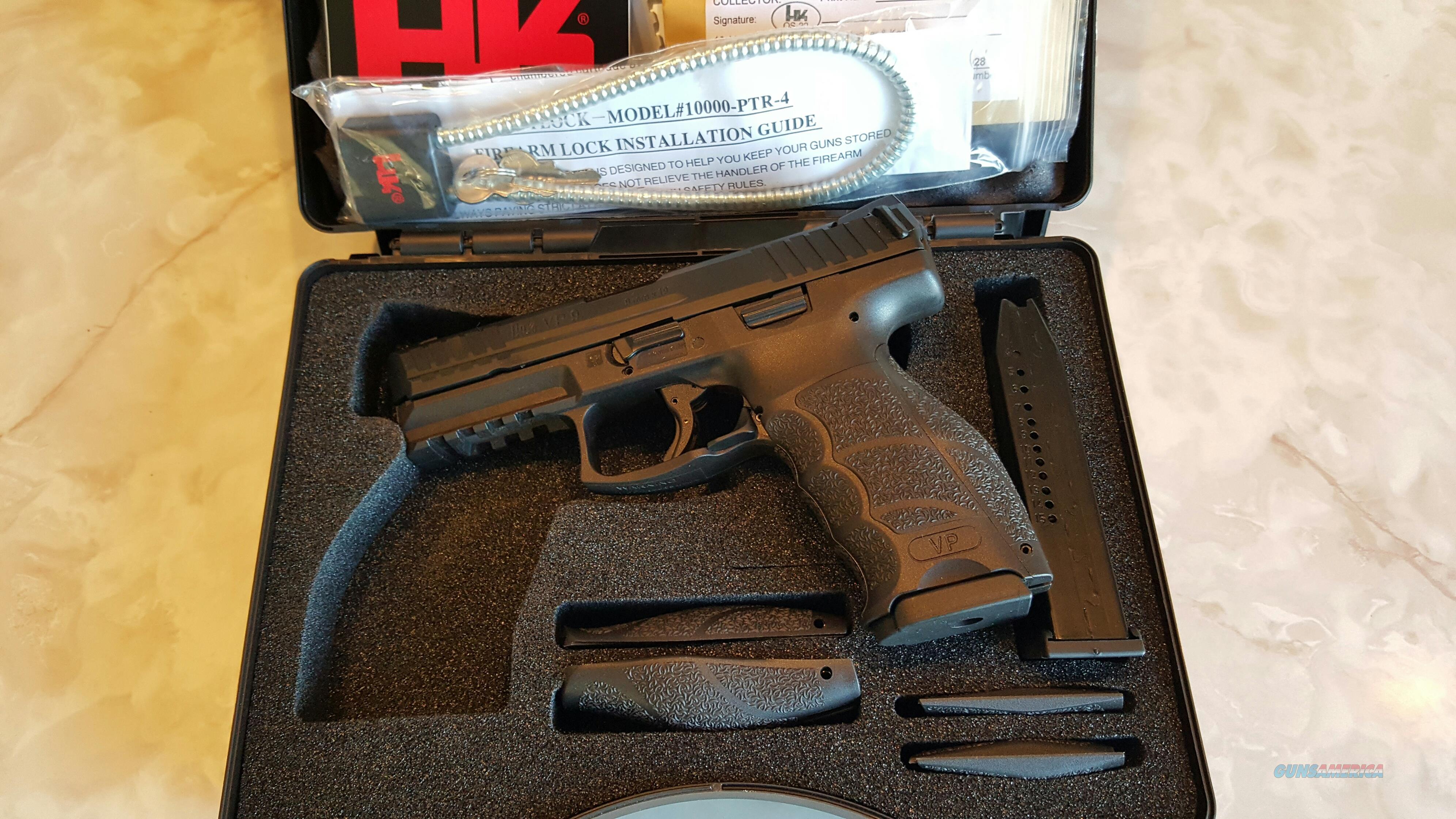 Hk vp9 Guns > Pistols > Heckler & Koch Pistols > Polymer Frame