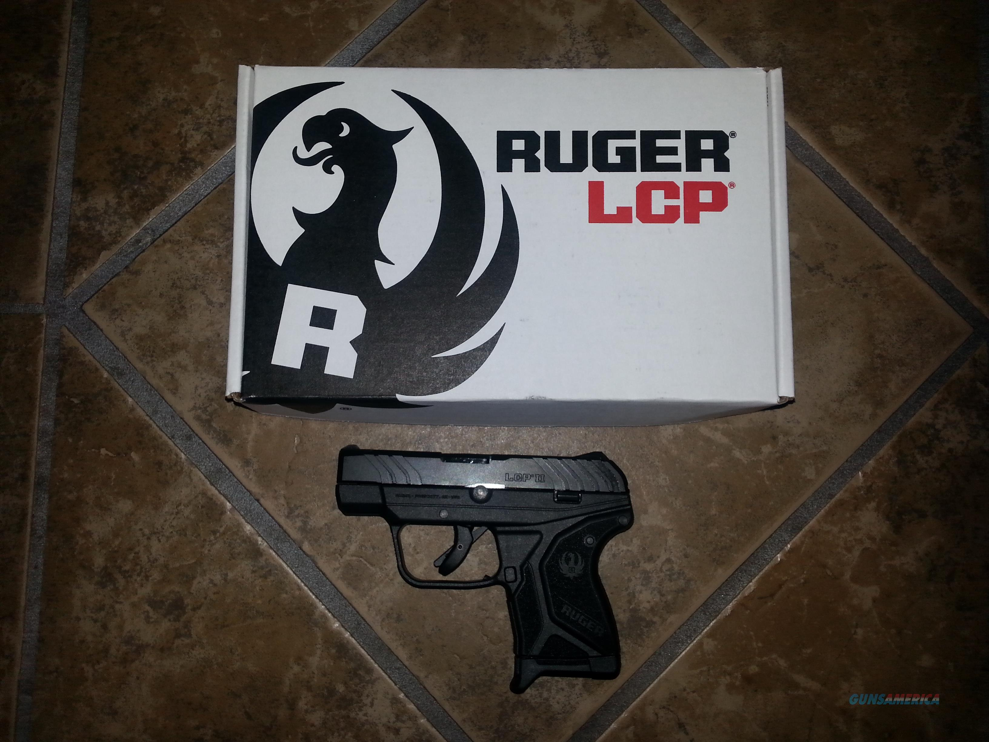 Ruger LCP II 380 Semi-automatic  Guns > Pistols > Ruger Semi-Auto Pistols > LCP