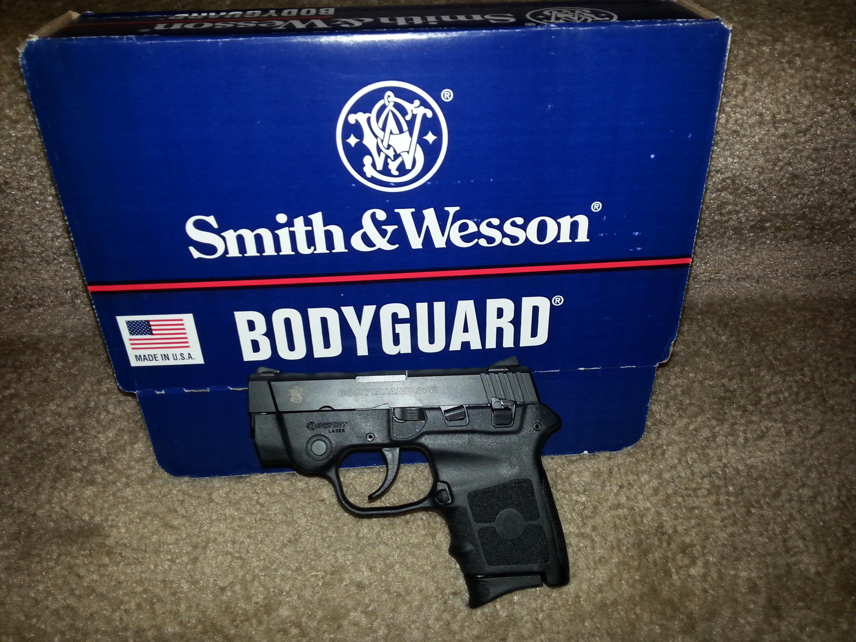 S & W Bodyguard 380 with Integrated Laser  Guns > Pistols > Smith & Wesson Pistols - Autos > Polymer Frame