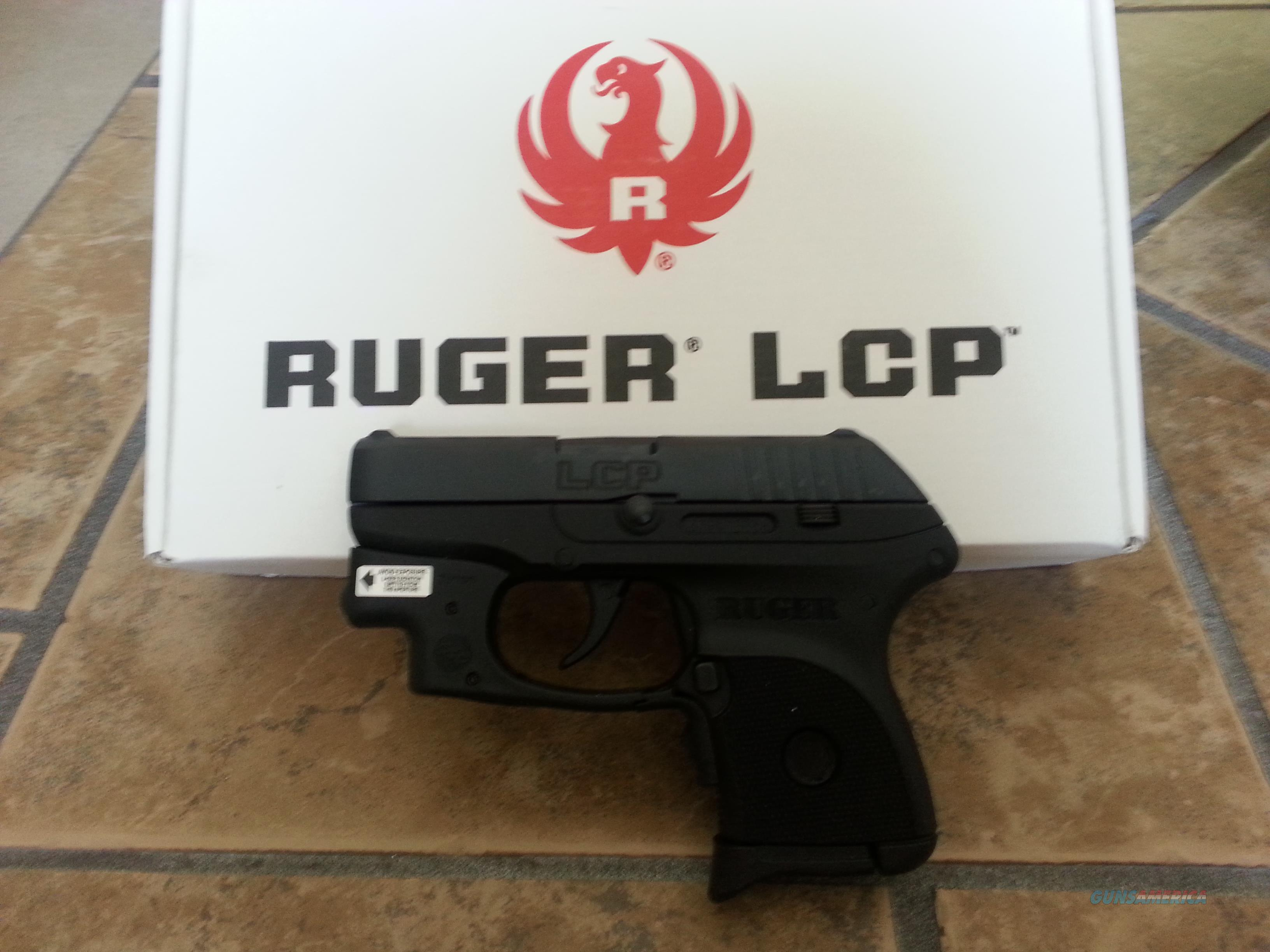 Ruger LCP 380 with Crimson Trace Laser  Guns > Pistols > Ruger Semi-Auto Pistols > LCP