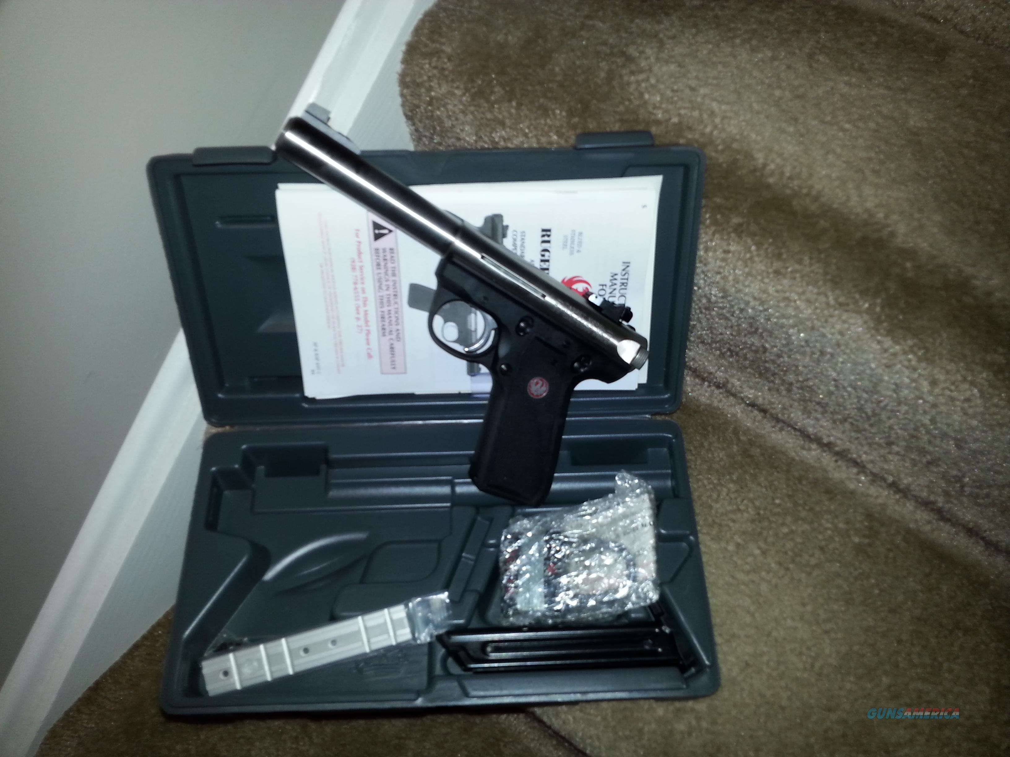 Ruger Mark III 22/45 Stainless 22LR  Guns > Pistols > Ruger Semi-Auto Pistols > 22/45