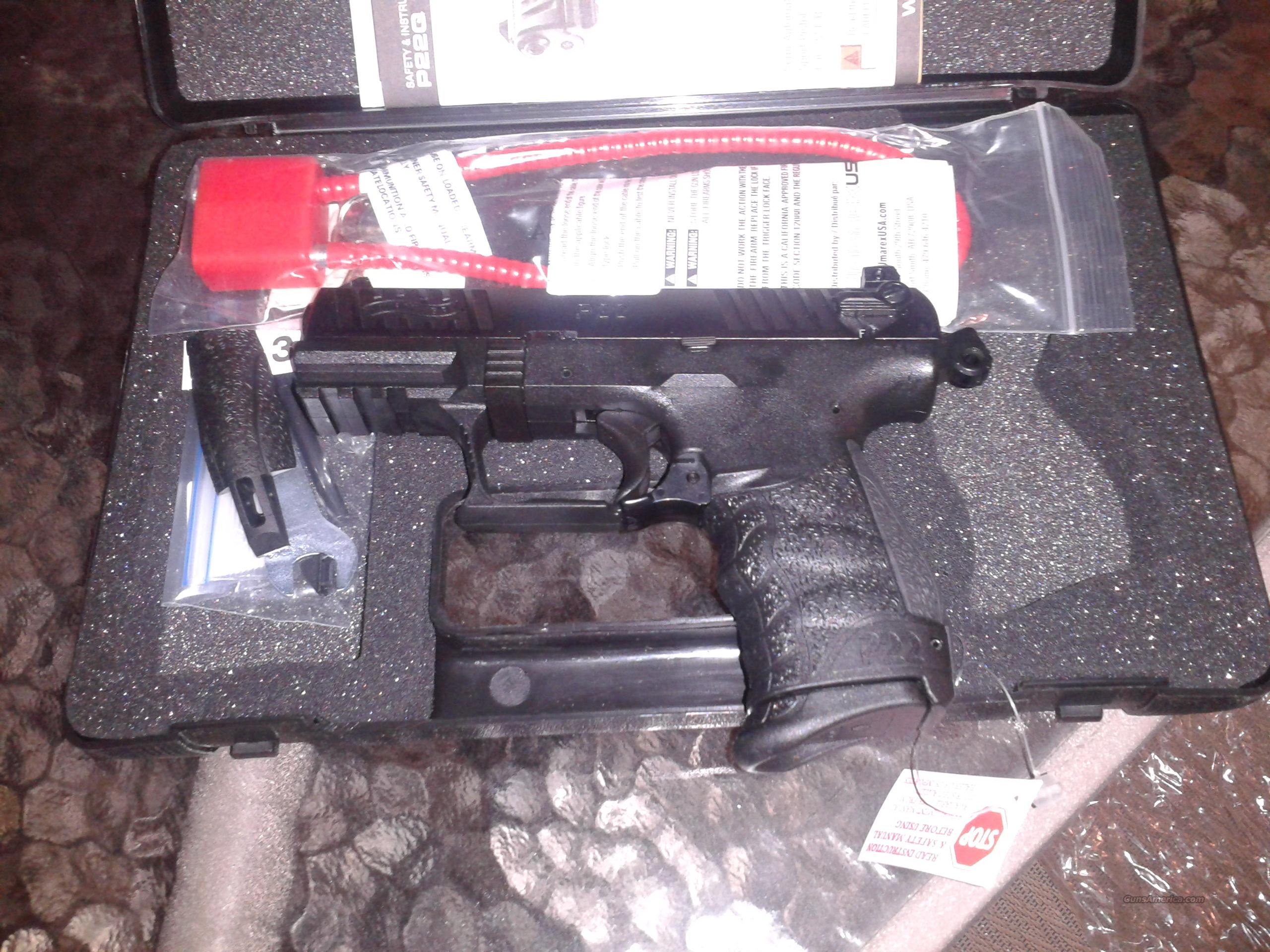 Walther P22 LR with Threaded Barrel  Guns > Pistols > Walther Pistols > Post WWII > P22
