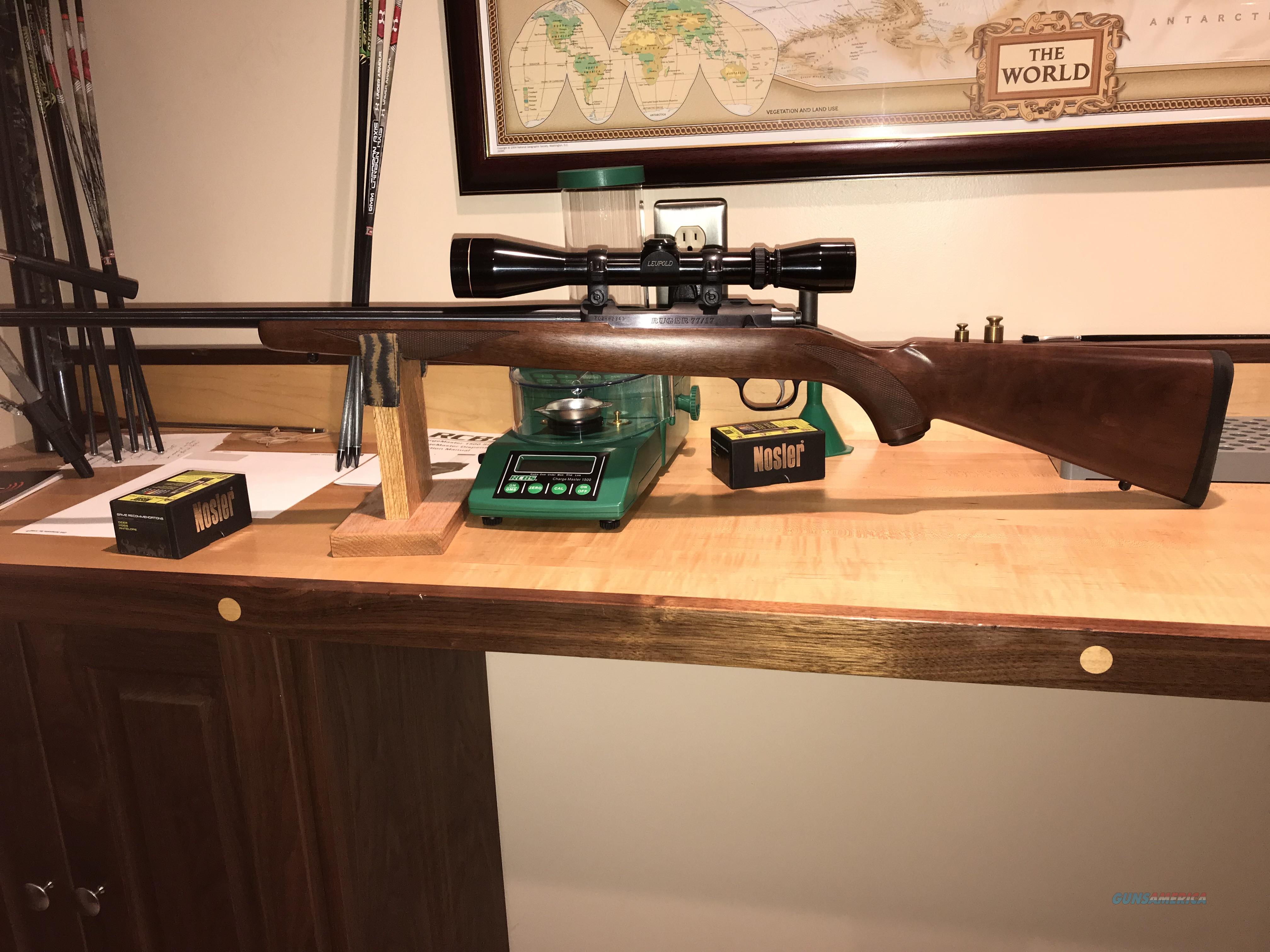 RUGER 77/17  Guns > Rifles > Ruger Rifles > Model 77