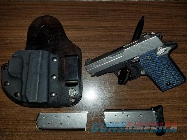 Sig Sauer P238 2-Tone 380 Used with extras  Guns > Pistols > Sig - Sauer/Sigarms Pistols > P238