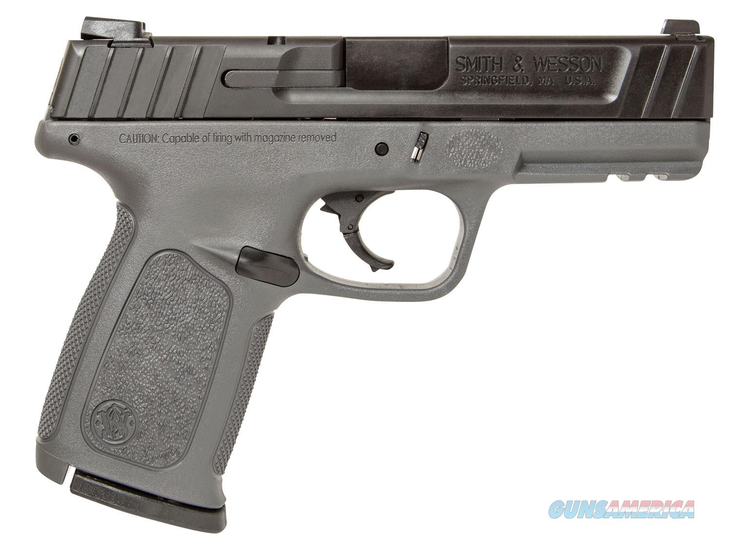 Smith & Wesson SD9VE 9MM GRAY 16R  Guns > Pistols > Smith & Wesson Pistols - Autos > Polymer Frame