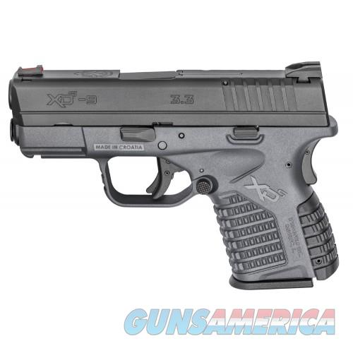 Springfield XDS 3.3 9mm Tactical Gray  Guns > Pistols > Springfield Armory Pistols > XD-S