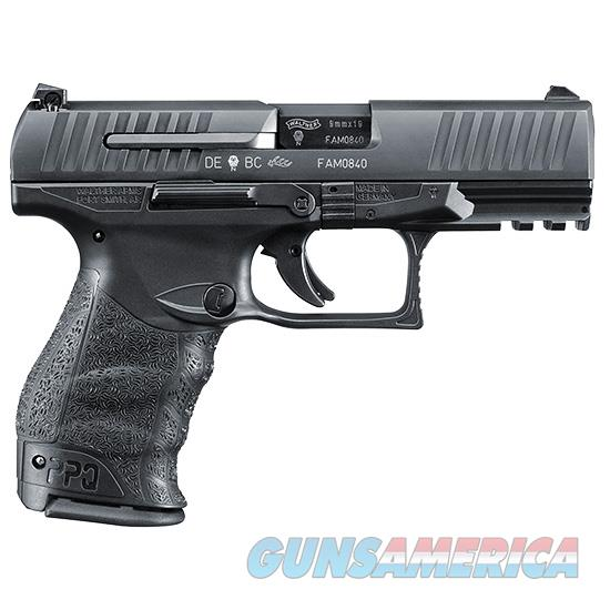 Walther PPQ M2 9mm 4in 15rd Black  Guns > Pistols > Walther Pistols > Post WWII > P99/PPQ