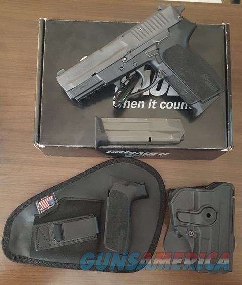 Sig Sauer SP2022 9mm E2022-9-B USED with extras... for sale