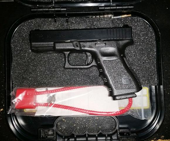 Glock 23 Gen3 Used LE Trade In with night sights  Guns > Pistols > Glock Pistols > 23