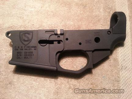 C & S Firearms CS1020 AR15 Billet Lower Receiver  Guns > Rifles > AR-15 Rifles - Small Manufacturers > Lower Only
