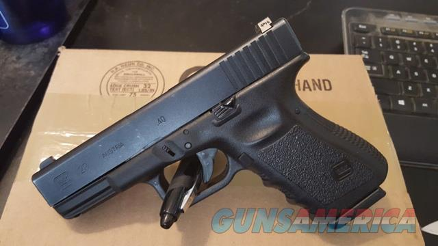 Glock 23 Gen 3 LE Trade In 40sw 13rd Night Sights  Guns > Pistols > Glock Pistols > 23