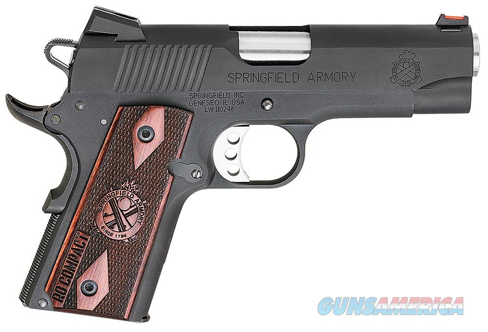 Springfield 1911 Compact Range Officer 9mm 4in 9rd Blued  Guns > Pistols > Springfield Armory Pistols > 1911 Type