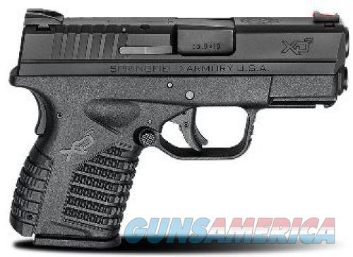 Springfield XD-S Essential 9mm 3.3in 7rd Black  Guns > Pistols > Springfield Armory Pistols > XD-S