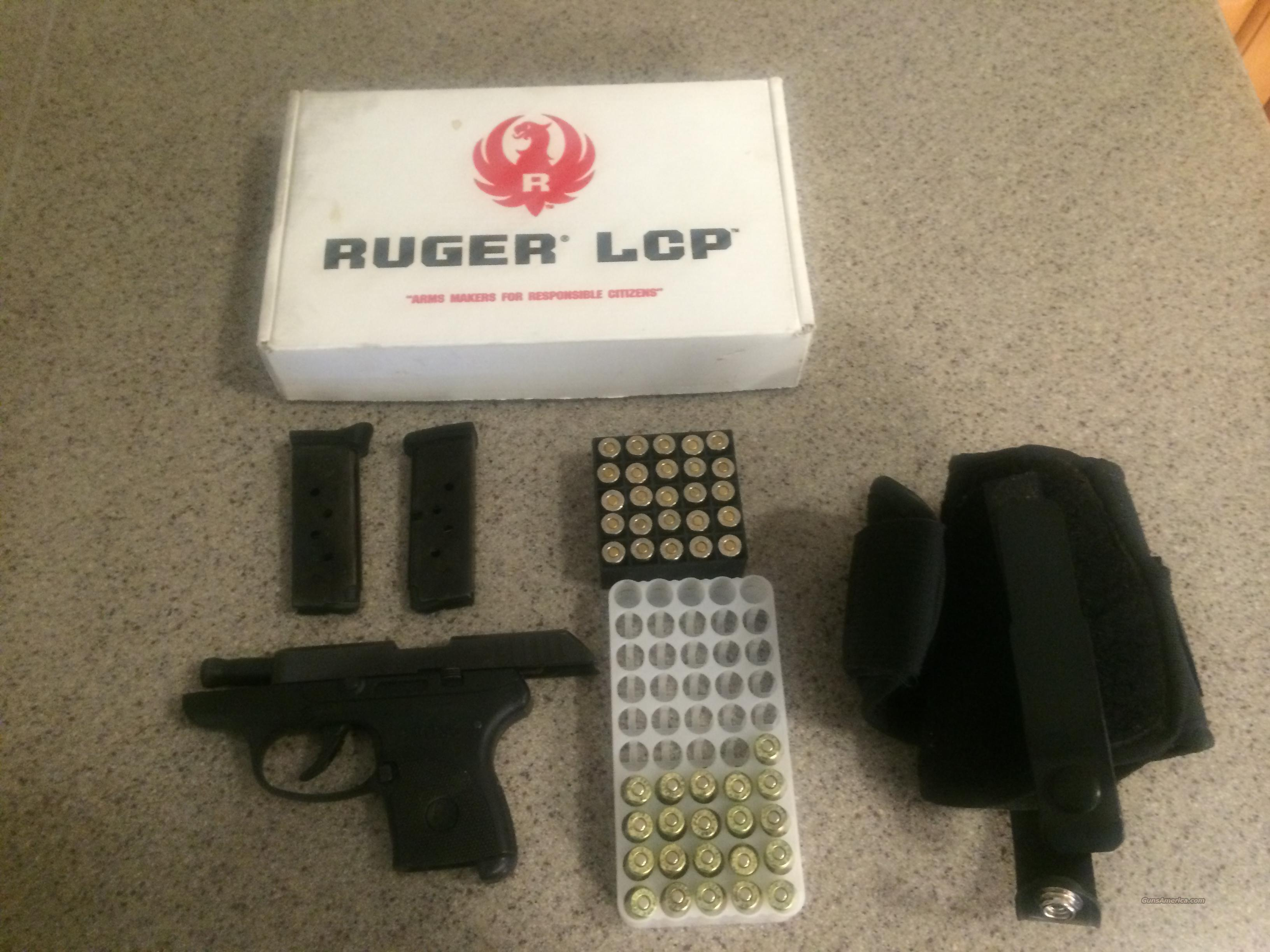 Ruger LCP with ammo and ankle holster  Guns > Pistols > Ruger Semi-Auto Pistols > LCP