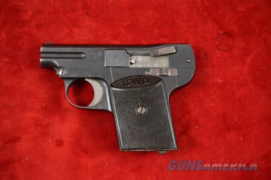 OWA Vest Pocket Pistol - only 6000 ever imported  Guns > Pistols > Collectible Pistols