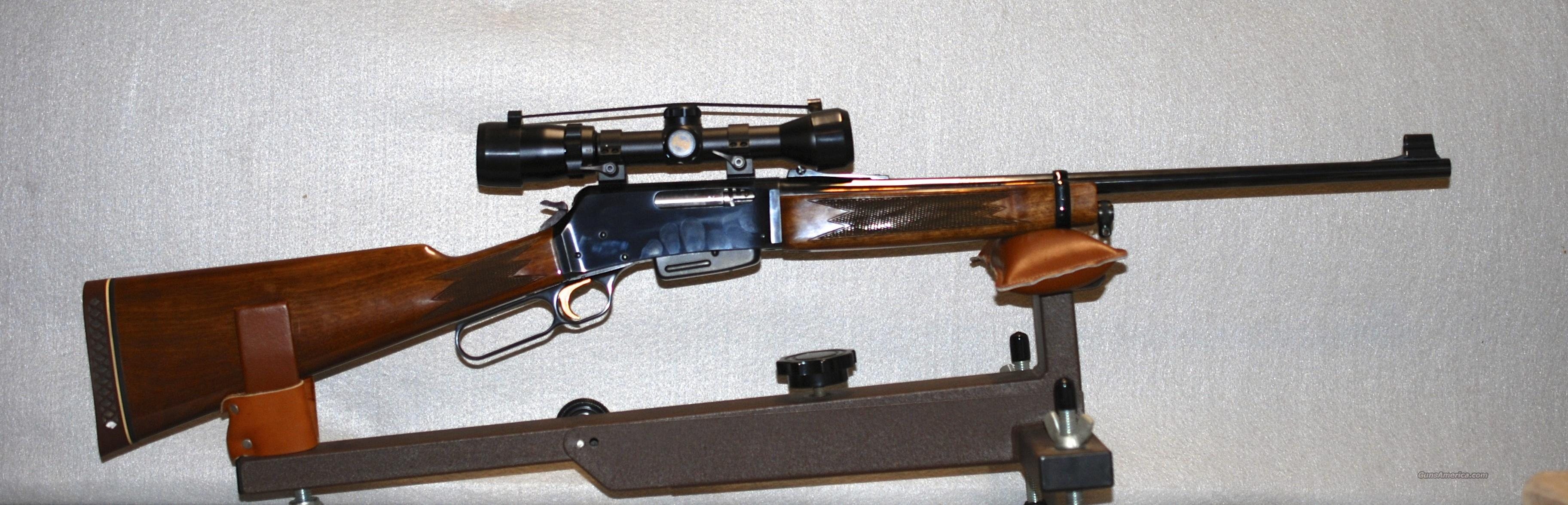 Browing BLR 358  Guns > Rifles > Browning Rifles > Lever Action