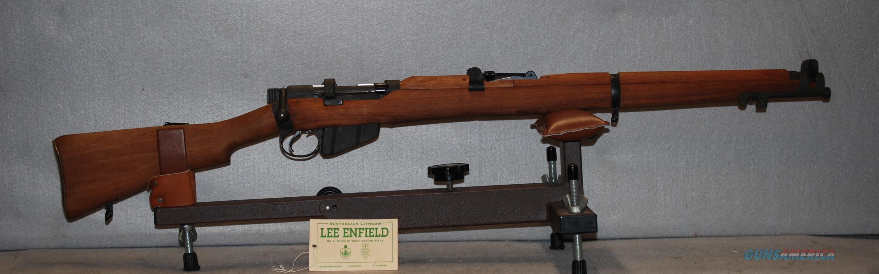 Lee Enfield training rifle new and unfired. 22 long rifle  Guns > Rifles > Enfield Rifle