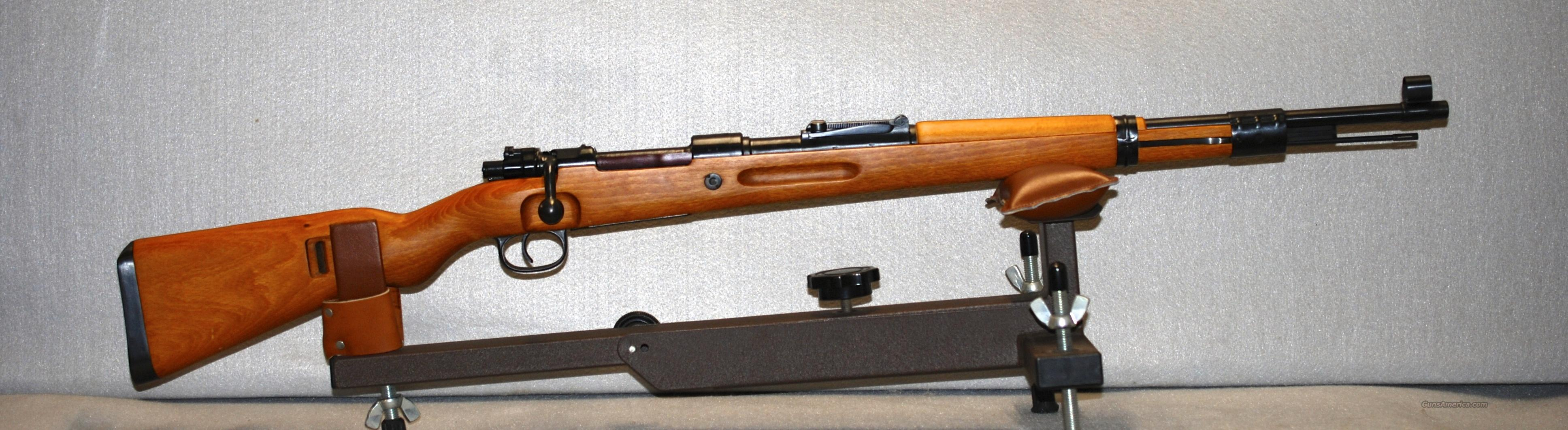 German Mauser K98, 8mm  Guns > Rifles > Mauser Rifles > German
