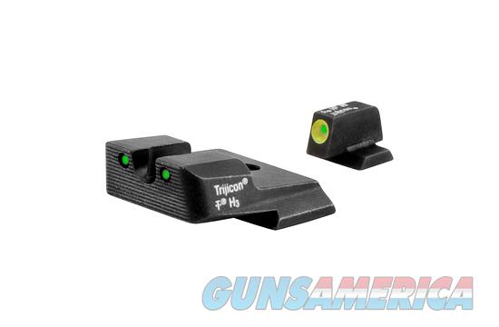 Trijicon HD Night Sights S&W M&P w/ Yellow Front Outline.  Non-Guns > Iron/Metal/Peep Sights