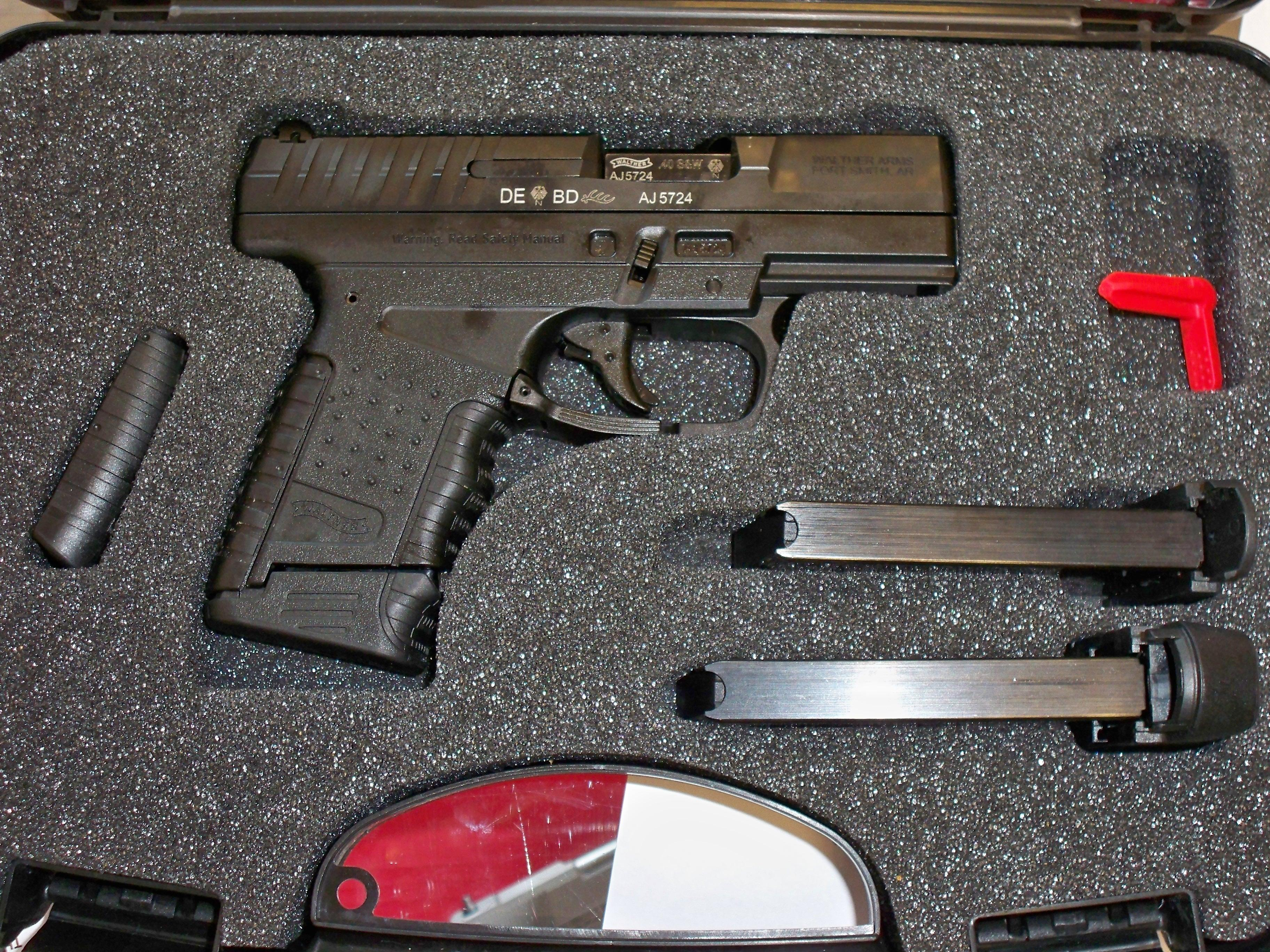 Walther PPS 40 S&W  Guns > Pistols > Walther Pistols > Post WWII > PPS
