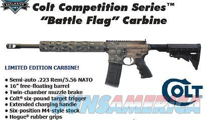 CCR CRX16B BATTLE FLAG CARB 5.56 *LTD   Guns > Rifles > Colt Military/Tactical Rifles