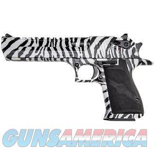 "MR DE50ZS MR DESERT EAGLE 50AE 6"" ZEBRA  Guns > Pistols > Magnum Research Pistols"
