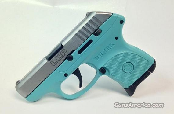 Robin S Egg Blue Ruger Lcp 380 Handgun With St For Sale