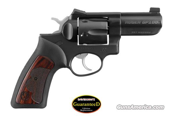 RUGER GP100 #1753 WCGPII 357 REV 3HB B TALO SPL EDTN. 1 OF 2500  Guns > Pistols > Ruger Double Action Revolver > SP101 Type