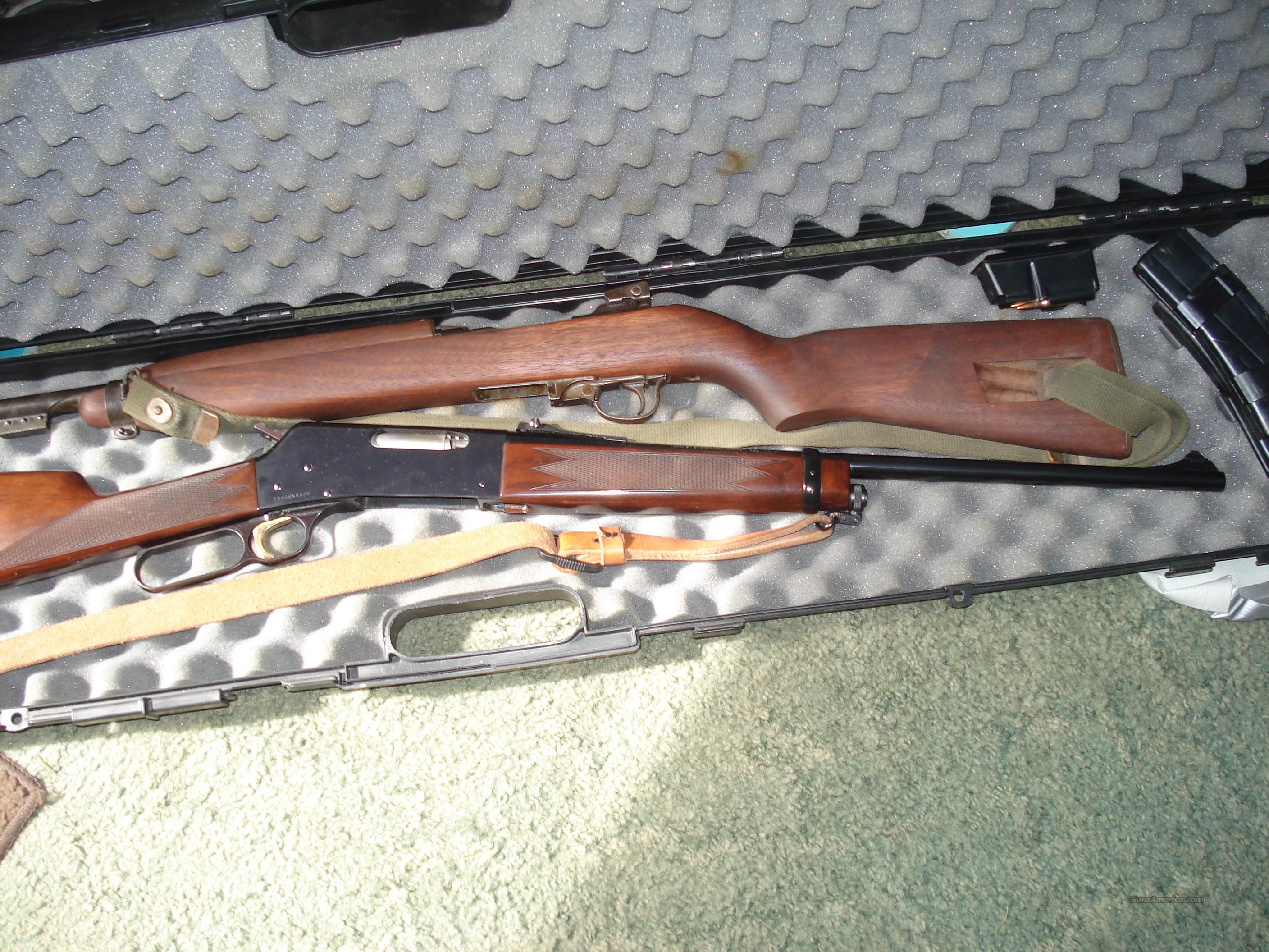 WWII INLAND M1 Carbine dated 2-44 in GREAT SHAPE  Guns > Rifles > A Misc Rifles