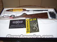 Browning SA-.22 Long Rifle,Grade-1,Japan  Guns > Rifles > Browning Rifles > Semi Auto > Hunting