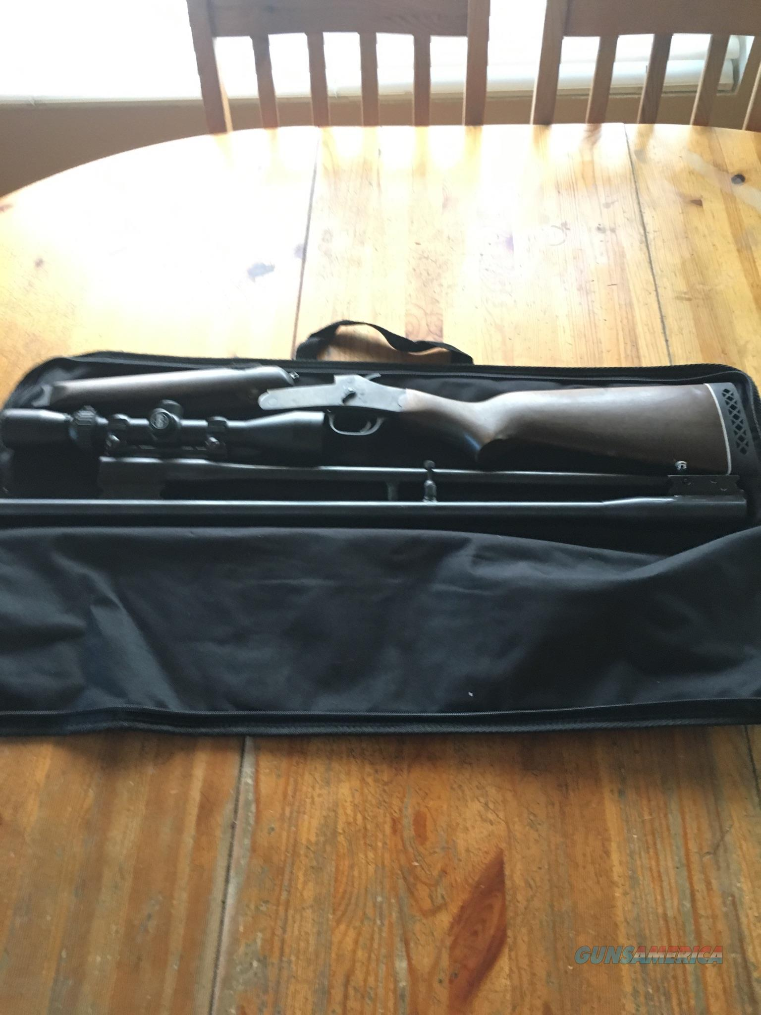 Rossi .243 /20 Ga. Combo with 3x9 scope  Guns > Rifles > Rossi Rifles > Other