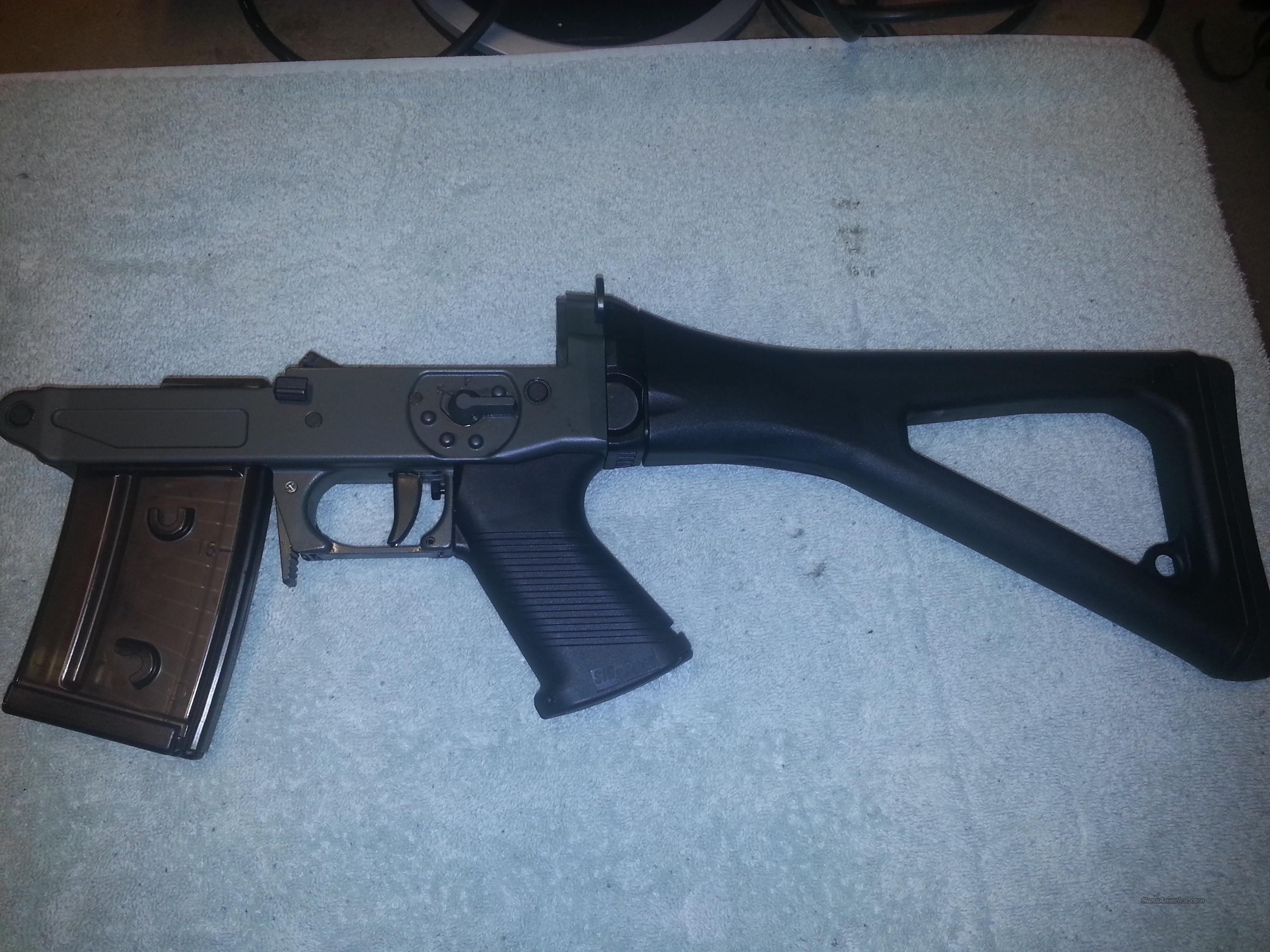 Sig 551-A1 Lower and 3 magazines  Non-Guns > Gun Parts > Military - Foreign