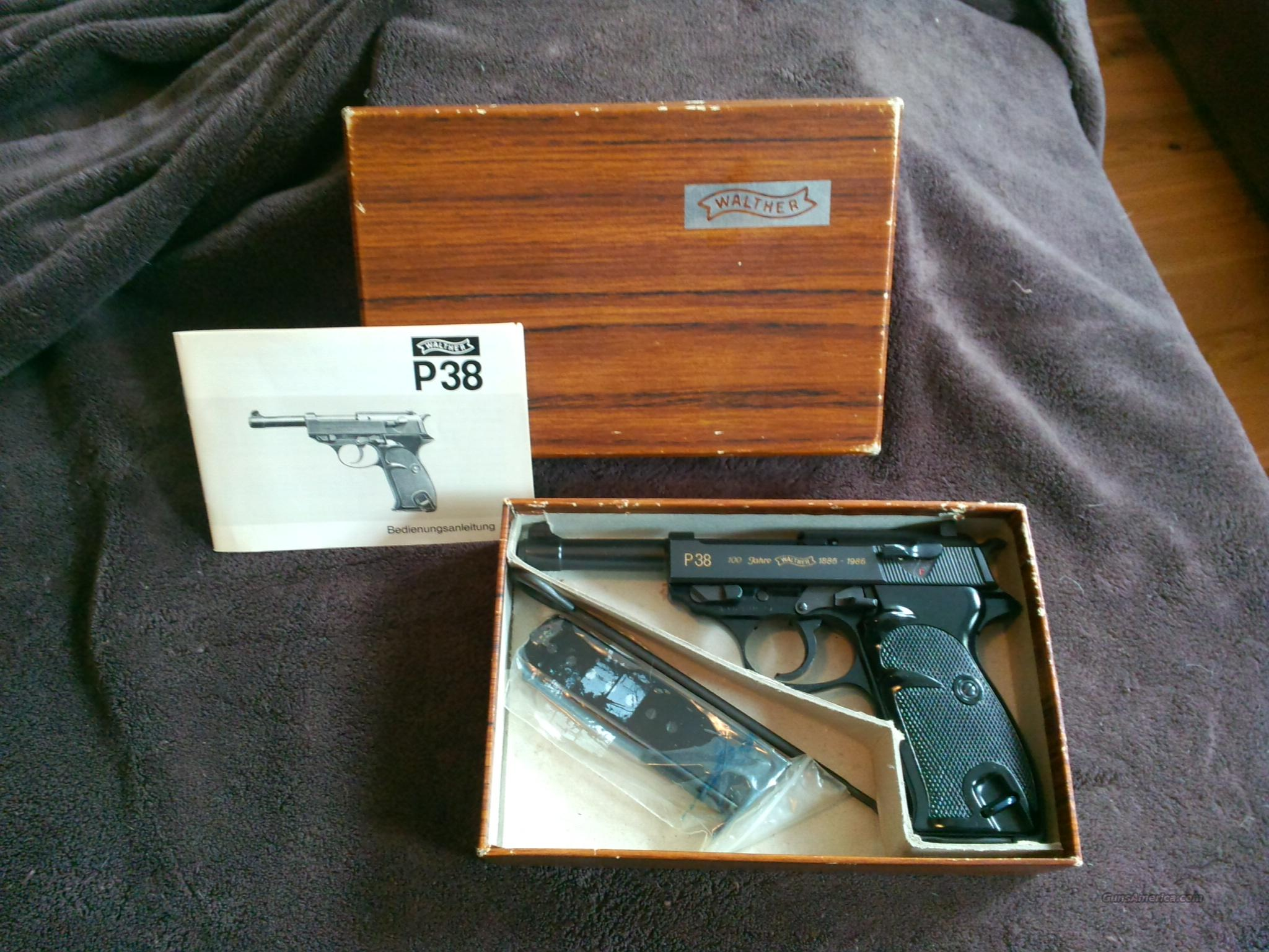 Walther P38 100 Jahr edition  Guns > Pistols > Walther Pistols > Post WWII > P38