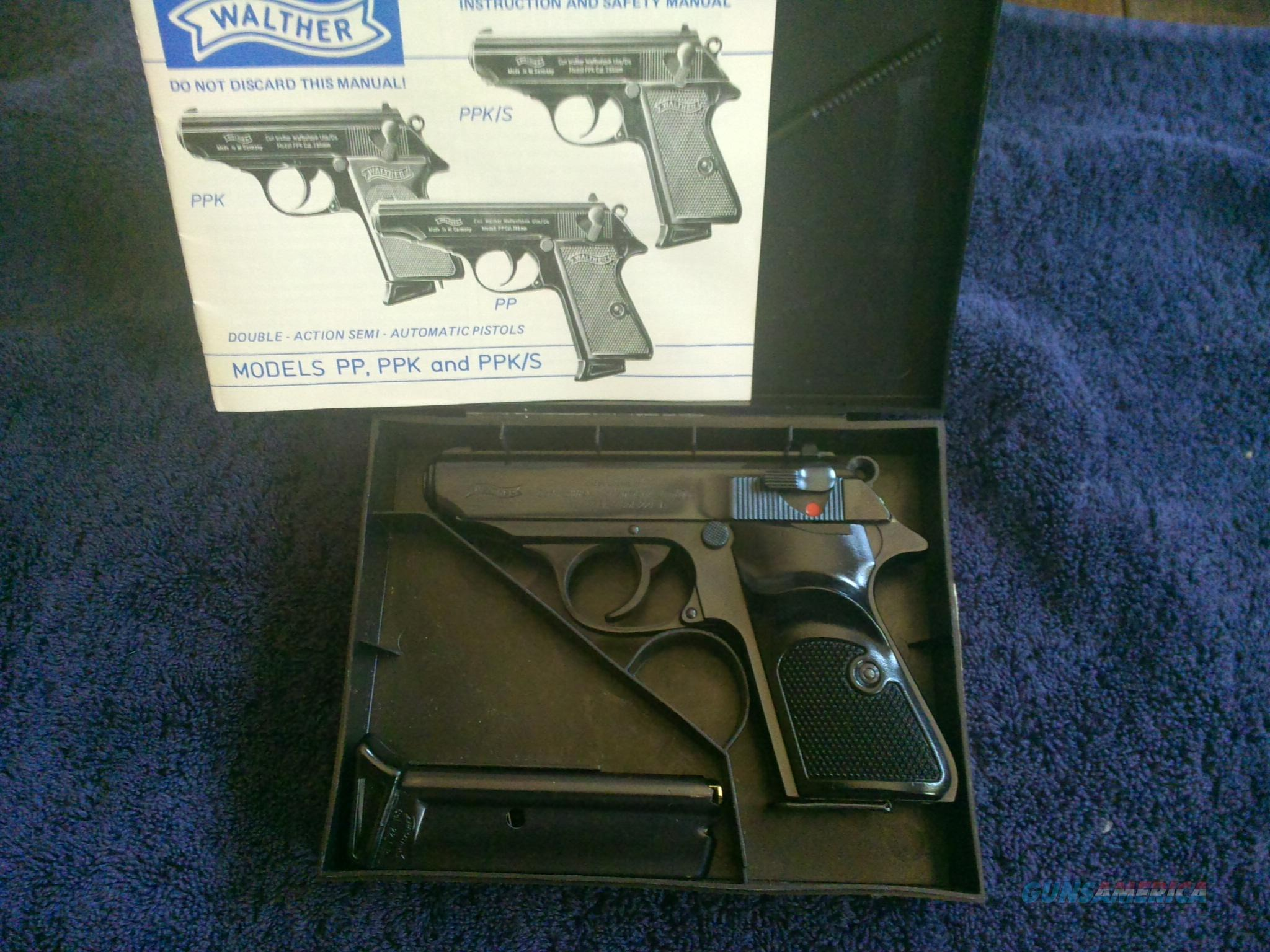 Early Walther PPK/s St Etienne  Guns > Pistols > Walther Pistols > Post WWII > PPK Series