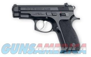 CZ 75 Compact (2) 15 rnd 9MM NEW 91190 NO CC FEE (Like P-01 w/o rail)  Guns > Pistols > CZ Pistols