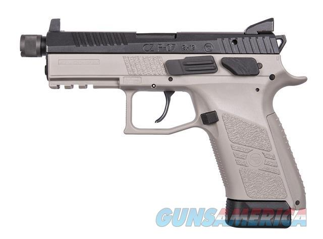 CZ P-07 Urban Grey Threaded Tritium 91288 NEW     Guns > Pistols > CZ Pistols