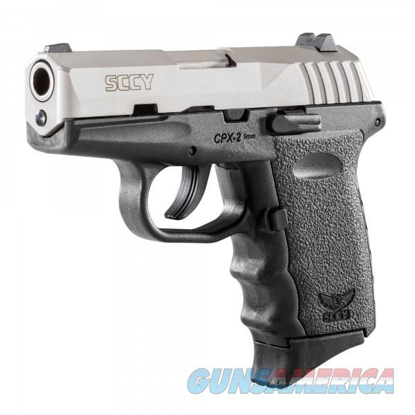 SCCY CPX-2 TT Black / Stainless 9MM NEW  Guns > Pistols > SCCY Pistols > CPX2