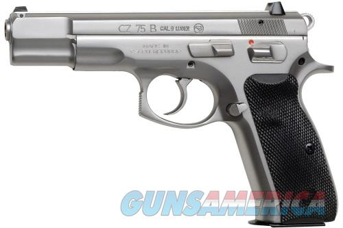 CZ-USA 75B Matt Stainless 9MM NEW 91128 Layaway  NO CC FEE  Guns > Pistols > CZ Pistols