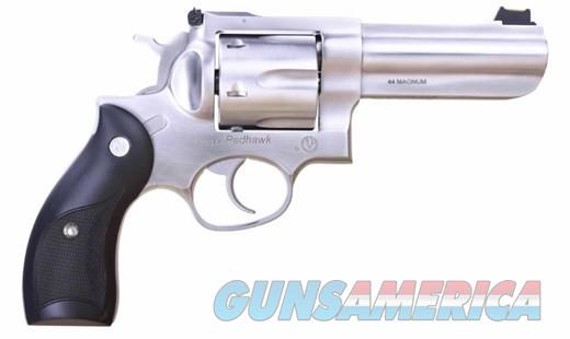"Ruger Redhawk 4"" SS Full Lug .44MAG 5058 NEW  Guns > Pistols > Ruger Double Action Revolver > Redhawk Type"