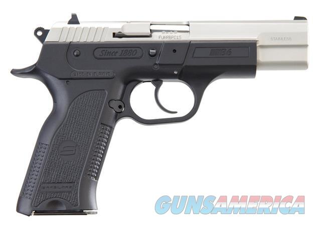 "EAA SAR B6 4.5"" 9MM Stainless NEW 800430     Guns > Pistols > EAA Pistols > Other"