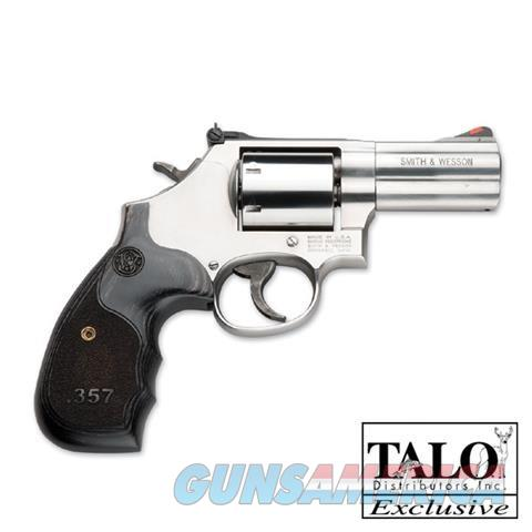 "S+W 686 Deluxe TALO 3"" Wood Grip .357MAG 150853  Guns > Pistols > Smith & Wesson Revolvers > Med. Frame ( K/L )"