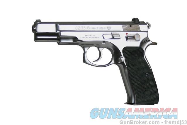 CZ 75B Polished SS 9mm NIB CZ-75 91108 EZ PAY $76  Guns > Pistols > CZ Pistols