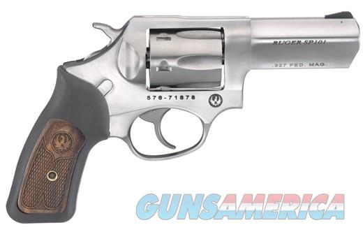 "Ruger SP101 SP-101 .327FED 3"" SS 5784 NEW  Guns > Pistols > Ruger Double Action Revolver > SP101 Type"