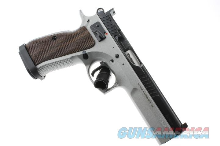 CZ-USA CZ75 CZ-75 Tactical Sport 9MM NEW 91172 (3) Mags    Guns > Pistols > CZ Pistols