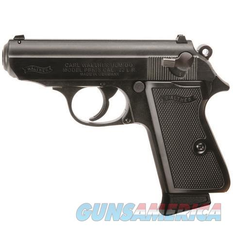 "Walther PPK/S .22LR Black 3.35"" 5030300 NEW  Guns > Pistols > Walther Pistols > Post WWII > PPK Series"
