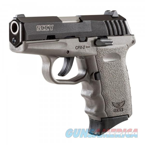 SCCY CPX-2 CBSG Grey / Black 9MM NEW  Guns > Pistols > SCCY Pistols > CPX2