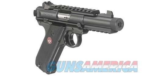 "Ruger Mark IV Tactical 4.4"" .22LR 40150 NEW  Guns > Pistols > Ruger Semi-Auto Pistols > Mark I/II/III/IV Family"