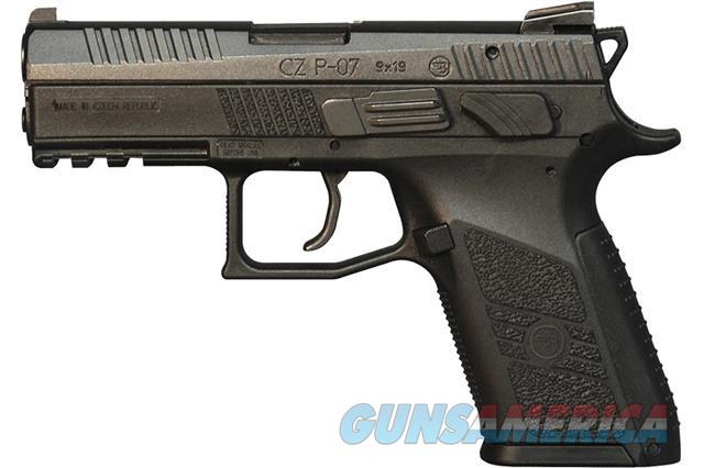 CZ P-07 9MM 3 backstraps NEW 91086 P07   Guns > Pistols > CZ Pistols